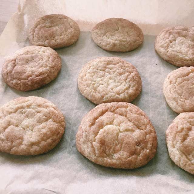 Melt in Your Mouth Snickerdoodle Cookies