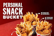 KFC Snack Bucket Personal Harga Promo Mulai Rp.18.182
