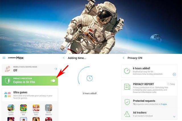 Samsung Max - Aplikasi VPN Bawaan Galaxy A series