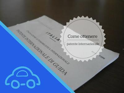 come ottenere la patente internazionale