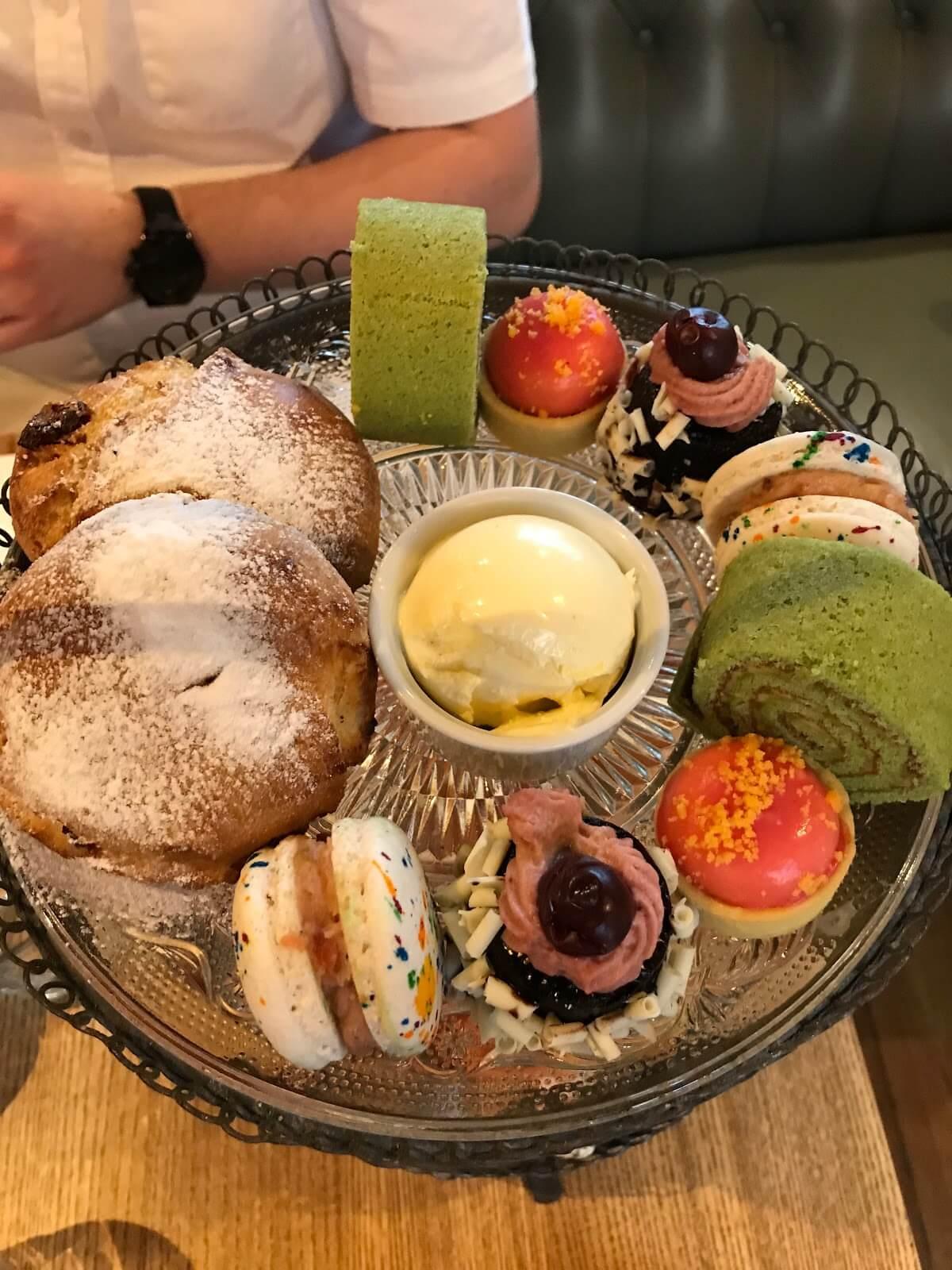 Hotel Du Vin York Afternoon Tea Sweet Options