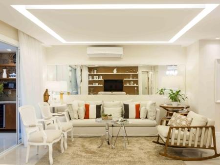 Sala com Ambientes Integrados