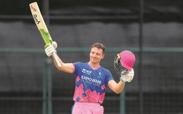 राजस्थान रॉयल्स को बड़ा झटका, जोस बटलर IPL 2021 से हुए बाहर