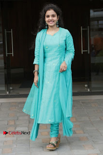 Tamil Actress Preethi Stills in Green Salwar Kameez at Kuzhalosai 2nd Anniversary Fund Raising Event  0045.jpg