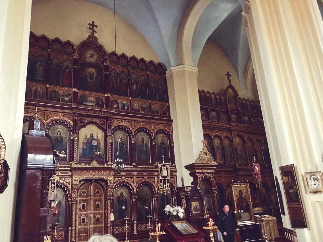 cerkiew, cerkiew w wilnie, kościoły w wilnie
