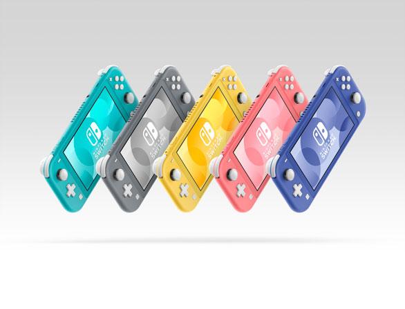 Nintendo Switch Lite Biru