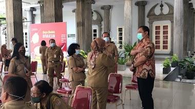 Vaksinasi Tahap 2 Di Kota Semarang Lebihi Target