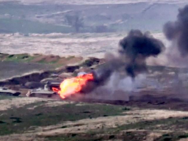 آرمينيا اور آذربائيجان کی افواج آمنے سامنے، مسلح جھڑپ میں 23 ہلاکتیں