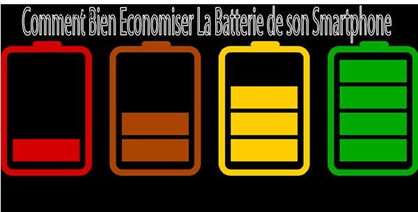 Conseils pour économiser la  batterie de votre téléphone portable
