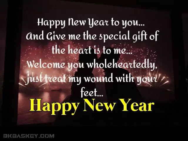 Happy New Year Wishes Messages For Girlfriend 2021 | Romantic New Year Sms For  Girlfriend in Hindi |
