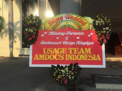 Karangan Bunga Wedding Sidoarjo
