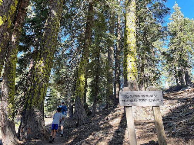 Ralston trail into Desolation Wildnerness