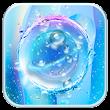 Blue Transparent Water Droplets-APUS Launcher