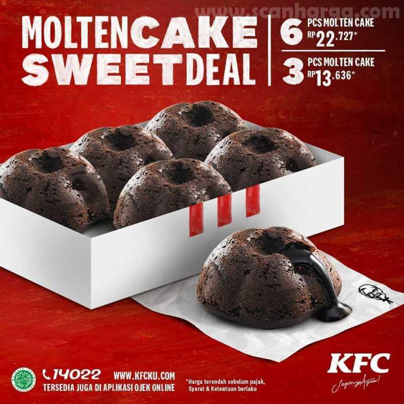 Moulten Cake KFC.