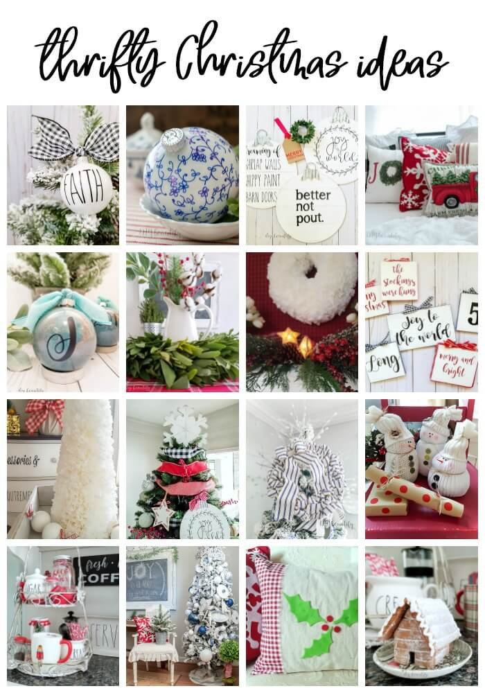 20 thrifty Christmas ideas to DIY and decorate
