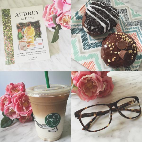 instagram instafriday bbloggers book tim hortons donut reeses oreo starbucks firmoo glasses