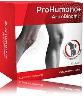 ArtroDinamic ProHumano+ plicuri pareri forumuri suplimente bune articulatii sanatoase
