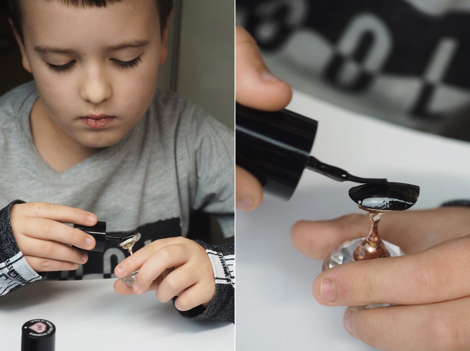 malowanie paznokcie