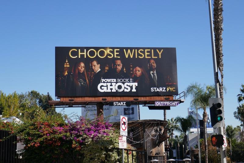 Power Book II Ghost FYC billboard