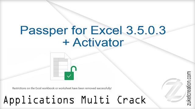 Passper for Excel 3.5.0.3 + Activator