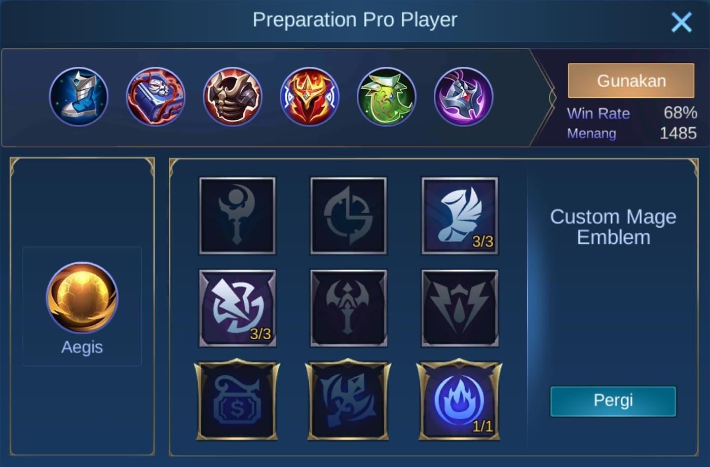 build item rafaela mobile legends (ML)