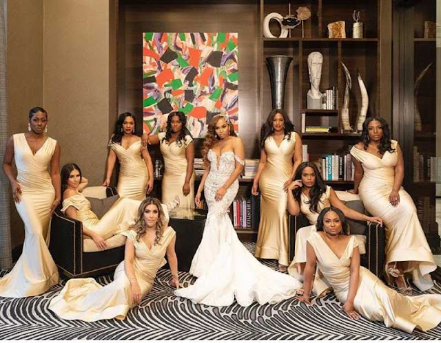 Champagne gold bridesmaid dresses