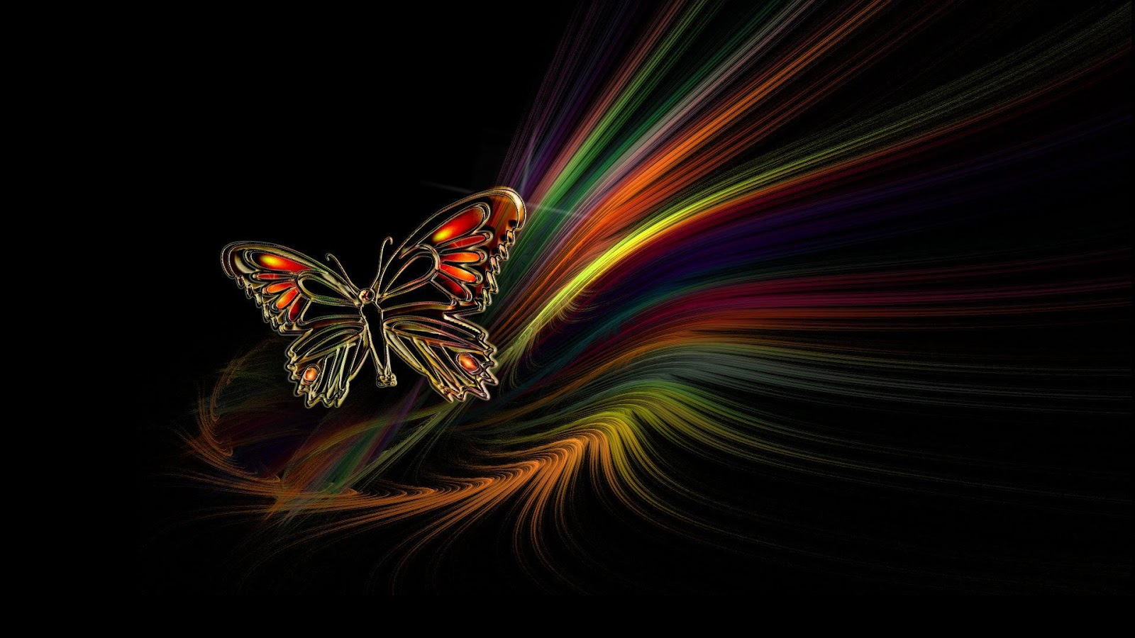 dark butterfly wallpaper desktop - photo #14