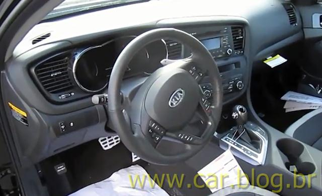 Kia Optima SX 2.0 Turbo 2012   Interior