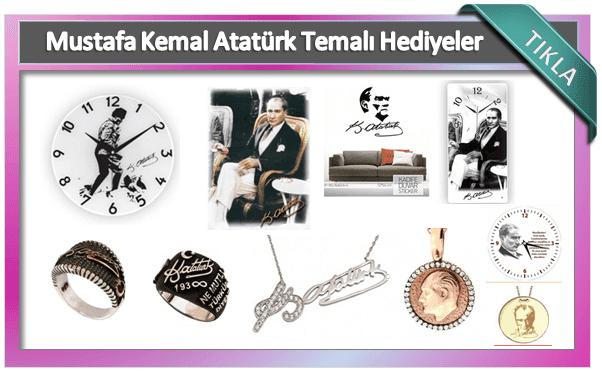 Atatürk Basklı Ürünleri