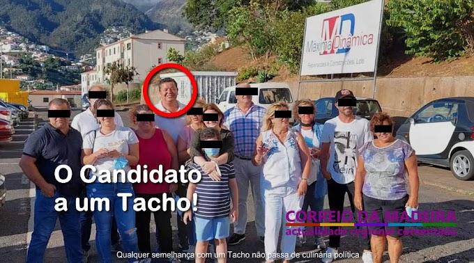O candidato a um Tacho