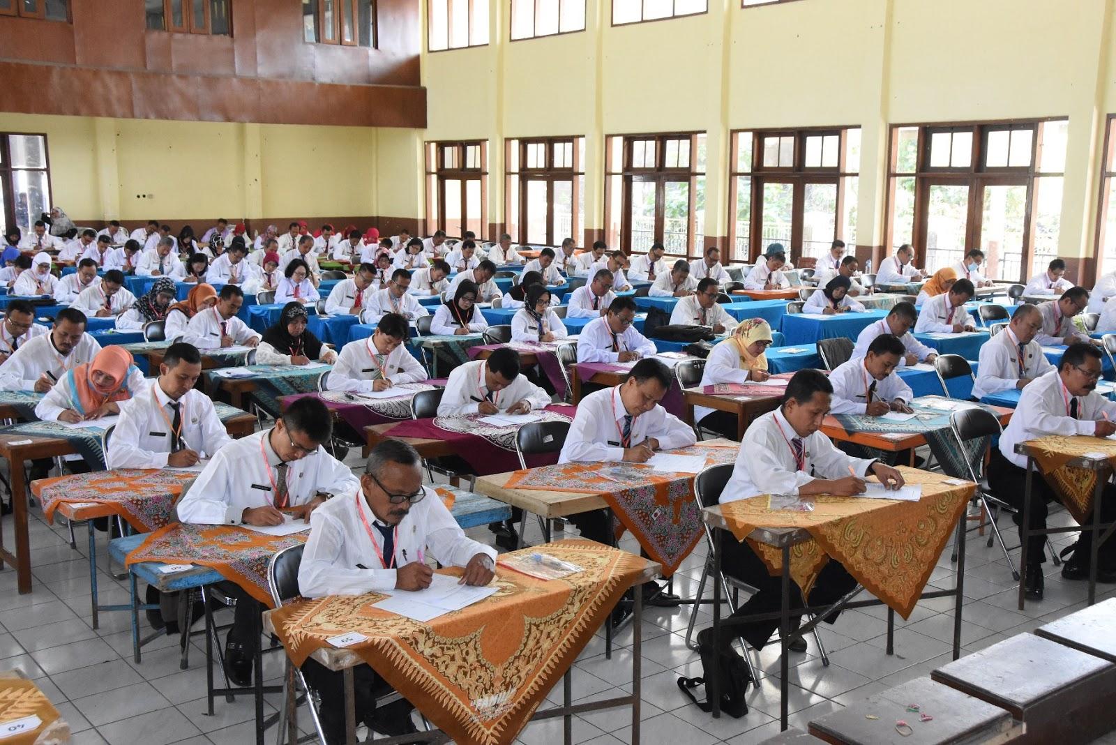 BKD Wonosobo Adakan Uji Kompetensi Untuk ASN