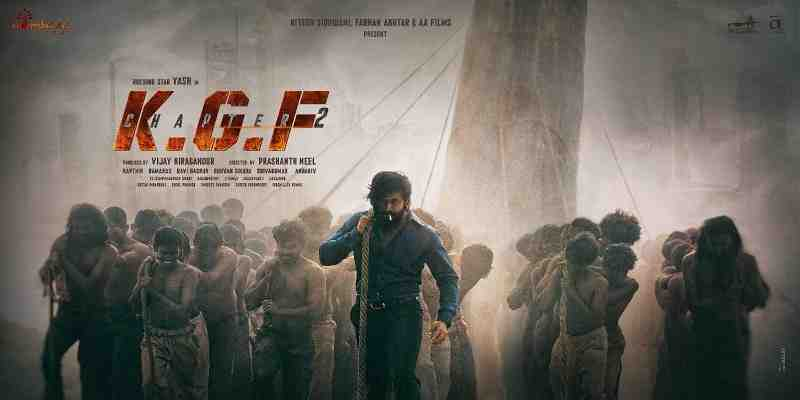 KGF Chapter 2 Movie Budget Poster