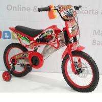 16 exotic motocross bmx sepeda anak