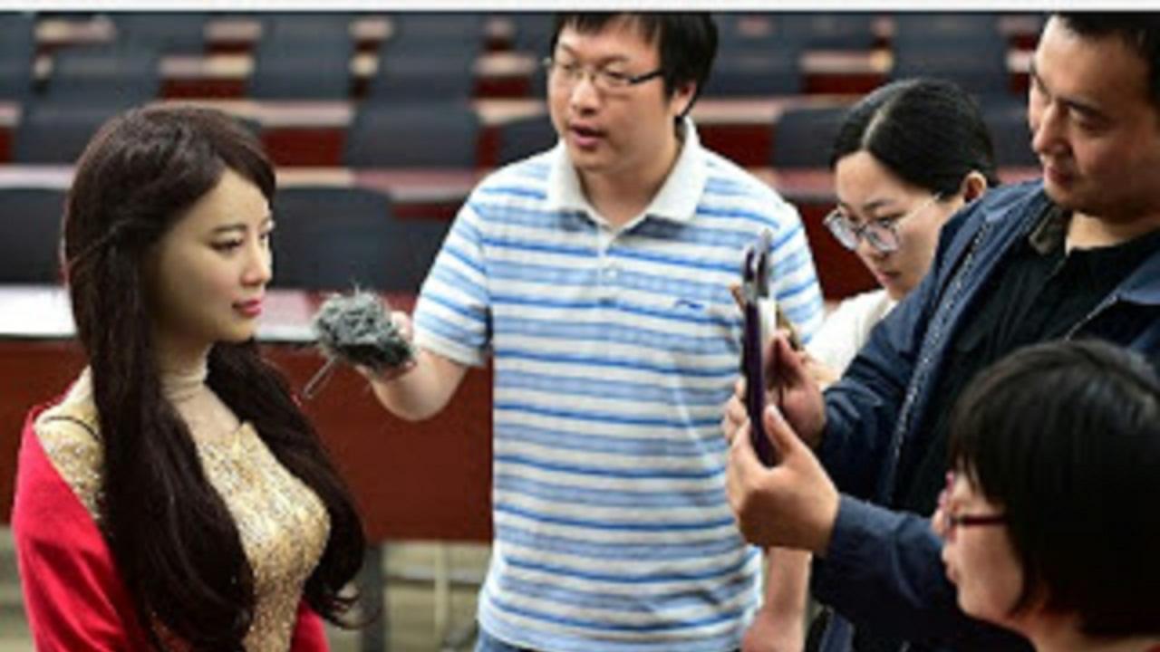 Jiajia, Robot Buatan Tiongkok yang Menyerupai Wanita Cantik