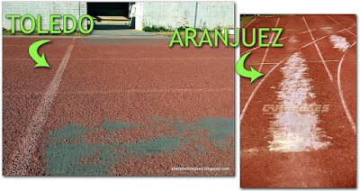 Pista Atletismo Aranjuez Toledo