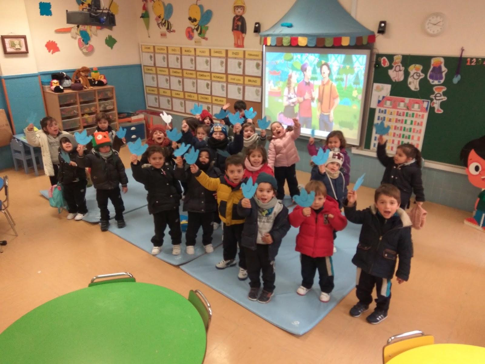 Agustinas Valladolid - 2017 - Educación Infantil - Día de la Paz