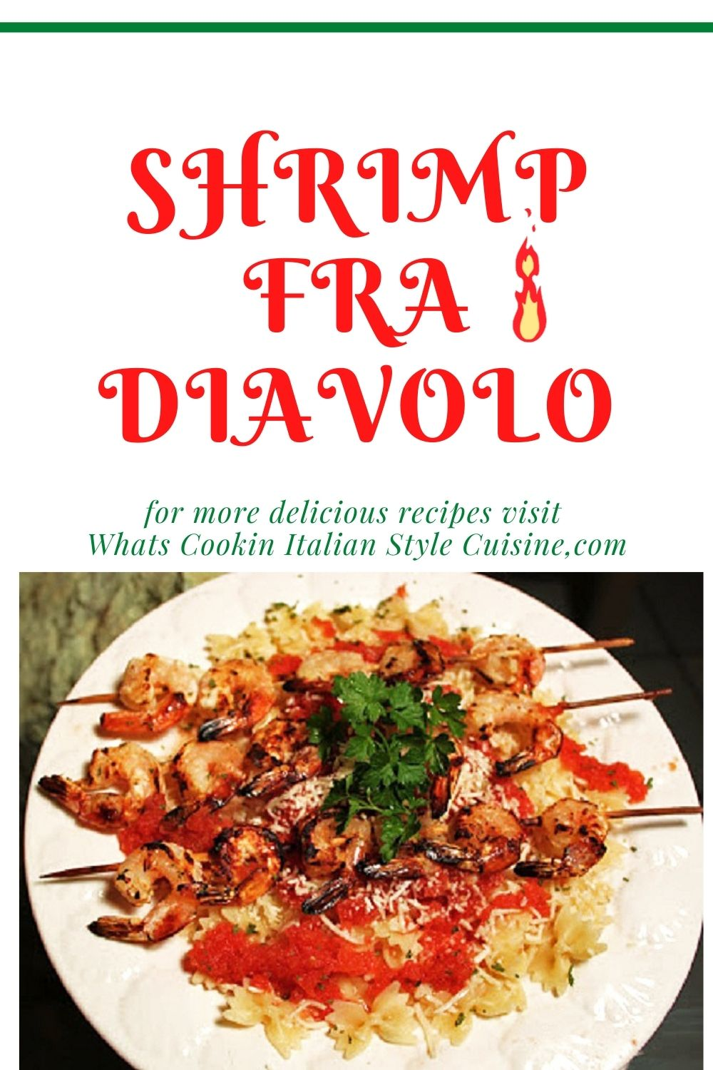 this is a pin for later on how to make a shrimp pasta diavolo meal