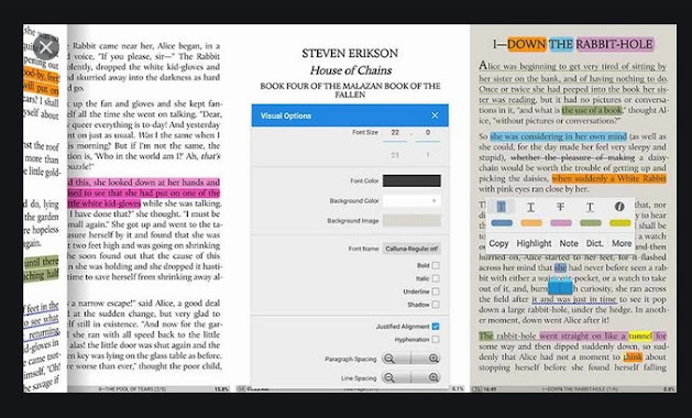 ebook readers for Android