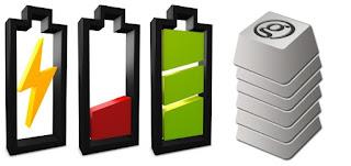 Smartphone baterias