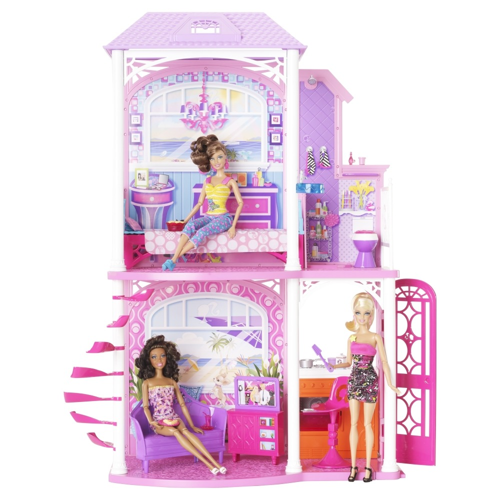 2 Story Barbie Beach House: Fashion Doll Studio: Post Pro Lindomar