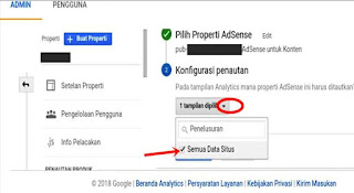 Menautkan Adsense Ke Google Analytics