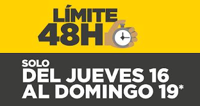 Top 10 ofertas Límite 48 horas (III) de El Corte Inglés