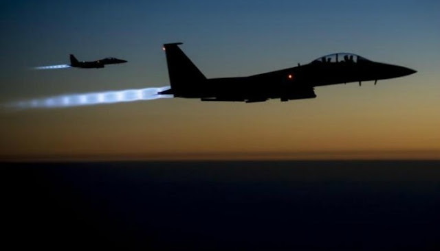 Officials in the Chahardara district outside Kunduz city said 13 people in two villages had been killed by US air strikes in the area