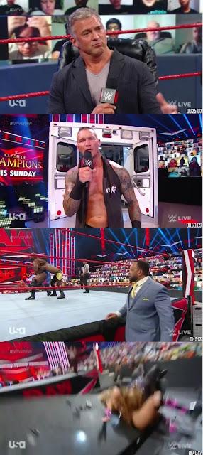 WWE Monday Night Raw 21st September 2020 480p 300Mb HDTV    7starHD