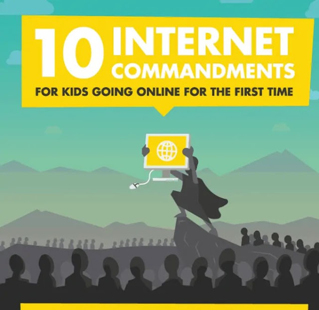 10 Internet Commandments for Kids Going Online For The First Time