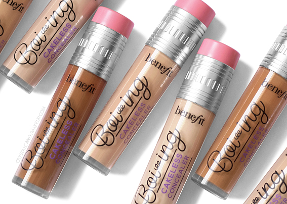 Benefit Boi-Ing Cakeless Concealer Review Photos Swatches Before After MAC Equivalents