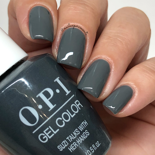 opi suzi talks with her hands gel color muse of milan fall 2020