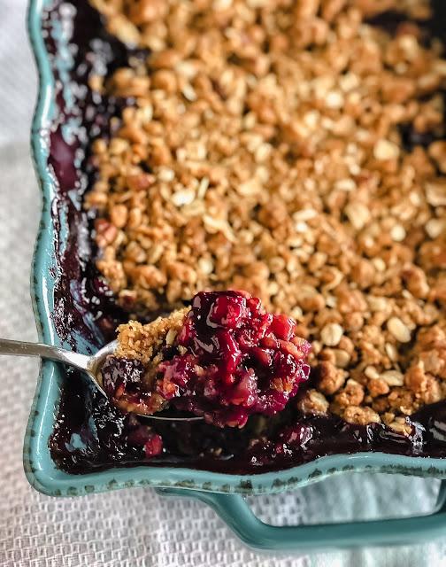 Apple Berry Crisp or Crumble