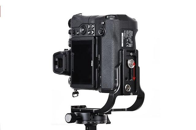Sunwayfoto PNL-Z6IIG on Nikon Z6II w/ Grip portrait orientation