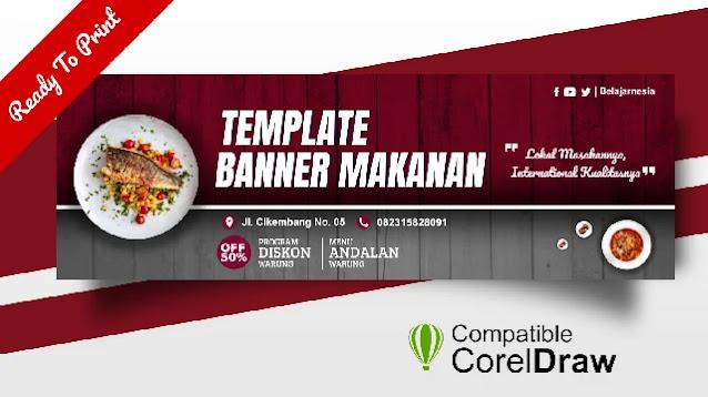 Free Download : Kumpulan Contoh Banner Warung Popular Coreldraw Beserta Filenya